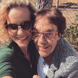 Melanie Wiegmann mit Mama