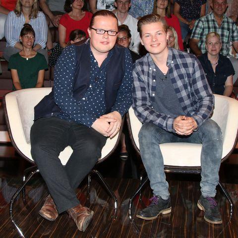 Angelo Kelly mit Sohn Gabriel