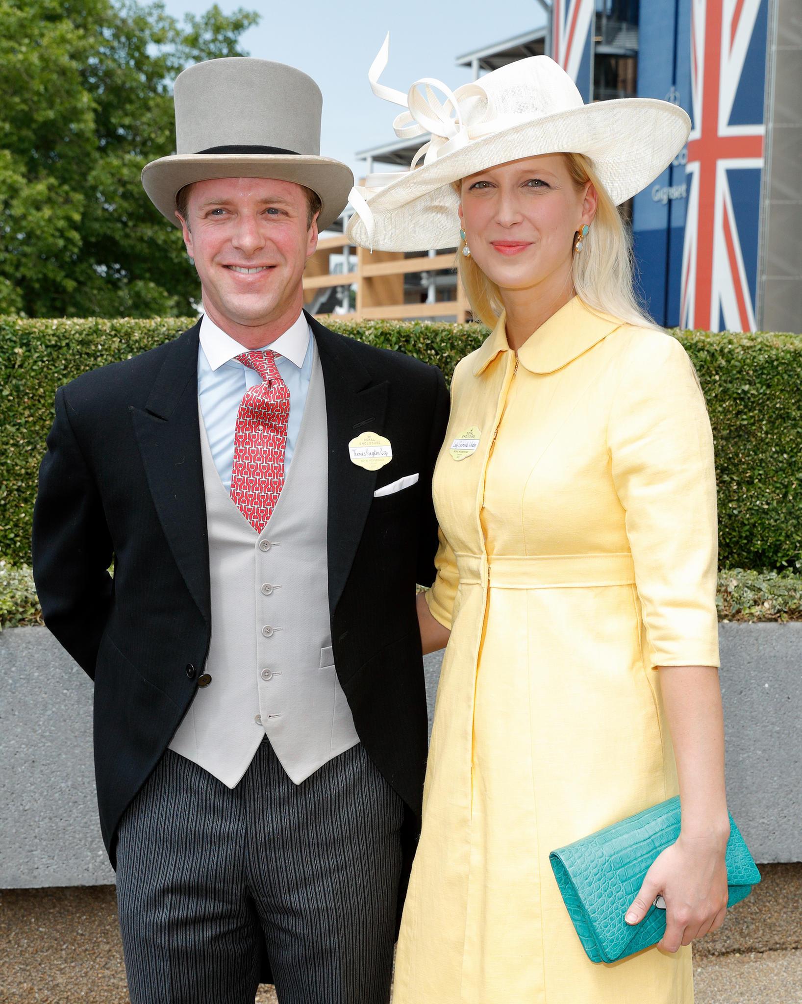 Royale Hochzeitsglocken in Windsor: Lady Gabriella vor dem Altar