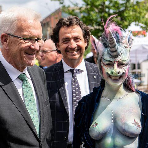Winfried Kretschmann , Cynthia Schneider