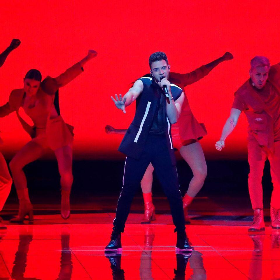 """Schweiz: Luca Hänni mit dem Song """"She Got Me"""""""