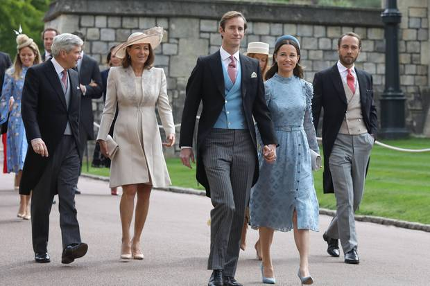 Michael Middleton, Carole Middleton, James Matthews, Pippa Middleton, Alizee Thevenet, James Middleton