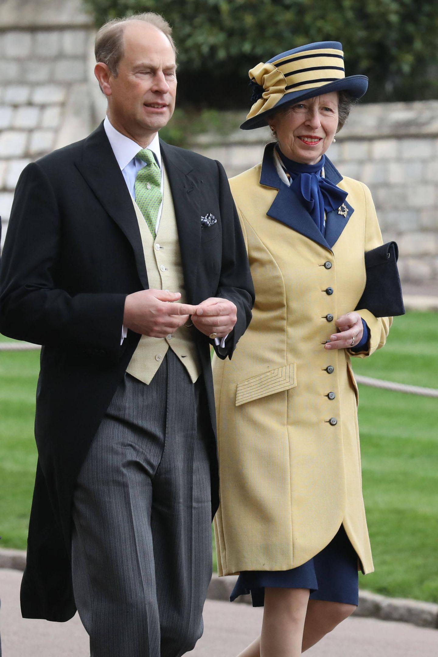 Auch Prinz Edward und Prinzessin Anne gehören an diesem Tag zu den Gästen.