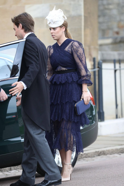 Prinzessin Beatrice bringt ihren FreundEdoardo Mapelli Mozzi mit zu der royalen Hochzeit.