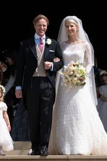Tom Kingston und Lady Gabriella Windsor