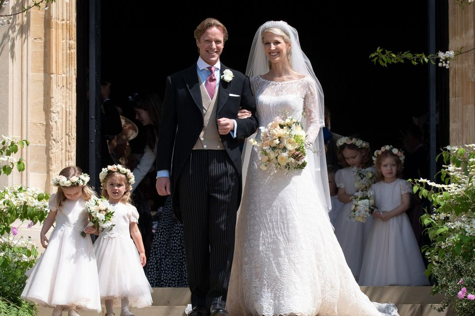 Tom Kingston und Lady Gabriella Windsor