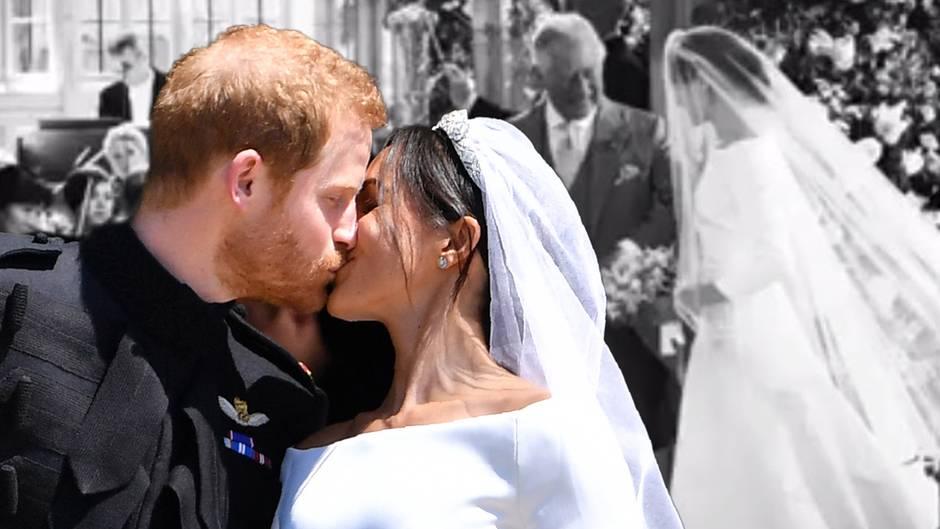 Prinz Harry + Herzogin Meghan : Noch nie gesehene Bilder zum 1. Hochzeitstag