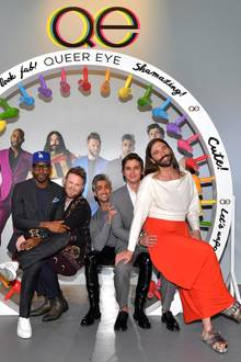 "16. Mai 2019  Der ""Queer Eye""-Cast (Karamo, Bobby, Tan, Antoni und Jonathan) ist in Los Angeles in den Raleigh Studios zu Gast."