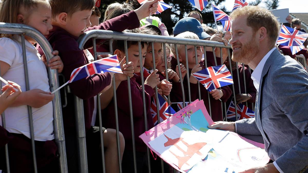 Make-up-Artist offenbart: Bereits an der Hochzeit zeigt Prinz Harry seine väterlichen Seite