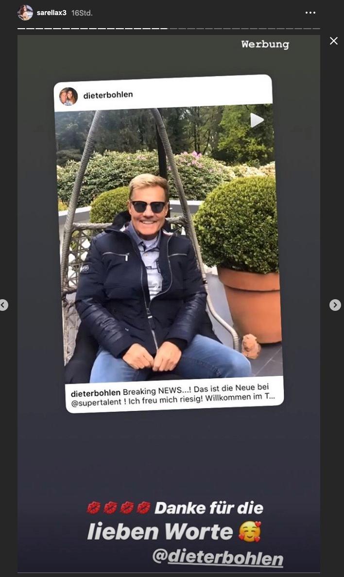 Dieter Bohlen freut sich auf Sarah Lombardi