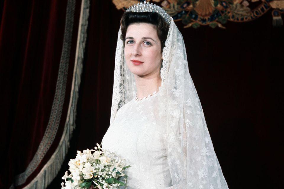 Prinzessin Alexandra von Kent, 1963.