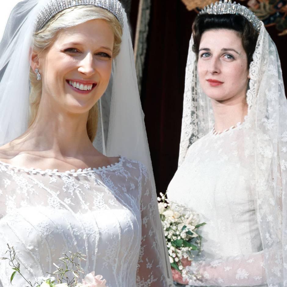 Die Geschichte hinter ihrem Brautkleid