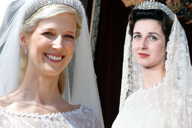 Lady Gabriella Windsor und ihre Tante Prinzessin Alexandra.
