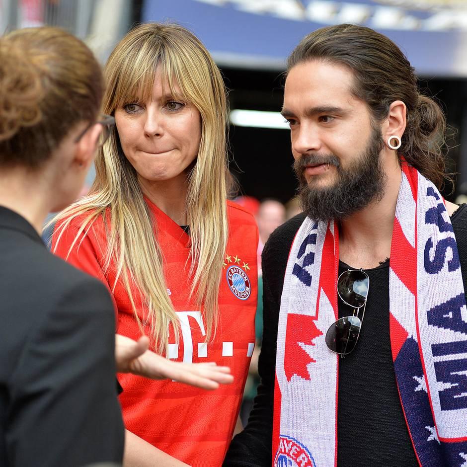 Abfuhr! Der FC Bayern München feiert lieber ohne sie