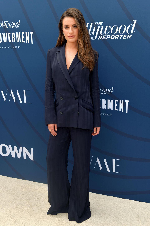 Sängerin und Schauspielerin Lea Michele hatte mit ihrer Rolle als überambitionierte Schülerin Rachel Berry ihren großen Durchbruch,als Freundin von Kollege Cory Monteith aber sicher auch ihre schwerste Zeit.
