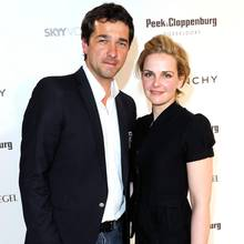 Andreas Elsholz und seine Ehefrau Denise Zich