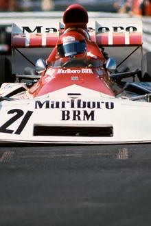 1973 wird Lauda beim Großen Preis von Monaco Dritter.