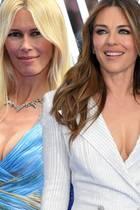 Claudia Schiffer und Liz Hurley.
