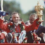 Ein emotionaler Moment: Am 18. Juli 1982 gewinnt Lauda, der für McLaren an den Start geht,den Großen Preis von Großbritannien.