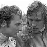 James Hunt (r.) ist Niki Laudas großer Konkurrent (hier beim Großen Preis der Niederlande 1973).