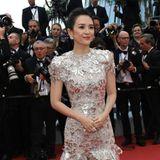 Zhang Ziyi in Givenchy Haute Couture ist völlig zu Recht einer der Lieblinge der Fotografen in Cannes.