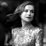 """Die französische Schauspielerin Isabelle Huppert bei der Filmvorführung des Filmes""""Frankie"""", in dem sie die Hauptrolle spielt."""