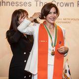 """Was für eine Ehre: Prinzessin Mary wird bei der Wirtschaftskonferenz """"Connecting Futures"""" in Seoul zur Ehrenbürgerin ernannt."""