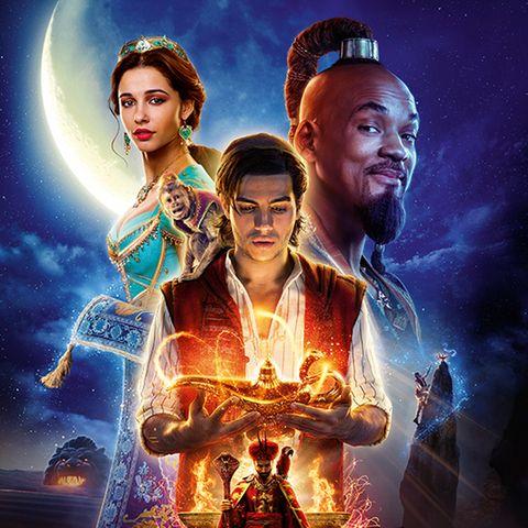 """Aladdin"" mitNaomi Scott, Mena Massoudund Will Smith"