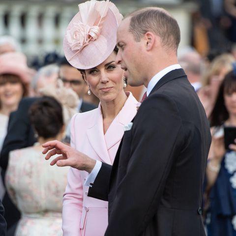 Herzogin Catherine und Prinz William bei der Garten Party der Queen
