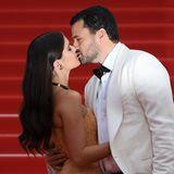 Sara Sampaio und Oliver Ripley zeigen sich ganz verliebt in Cannes.