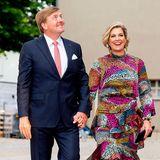 21. Mai 2019  König Willem-Alexander und Königin Máxima sind auf dem Weg zu einemThemendinner in der Historischen Saftfabrik in Werder.