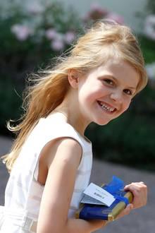 22. Mai 2019  Heute ist Prinzessin Estelle schon sieben Jahre alt (hier im Jahr 2018)