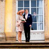 22. Mai 2019  Ein letztes Mal posieren, bevor es für Königin Máxima und König Willem-Alexander wieder nach Hause geht.