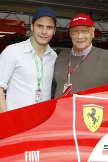 Daniel Brühl und Niki Lauda