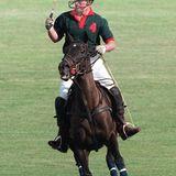 In jüngeren Jahren war Prinz Charles ebenso wie seine Söhne ein hervorragender Polospieler.