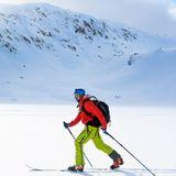 Als norwegischerKronprinz kennt sich Haakon mit Wintersportarten wie Langlauf natürlich bestens aus.