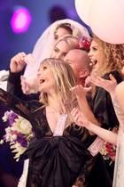Heidi Klum mit ihren Models