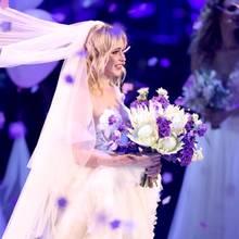 Die ehemalige GNTM-Kandidatin Teresia heiratete während der Livesendung ihren Freund Thomas.
