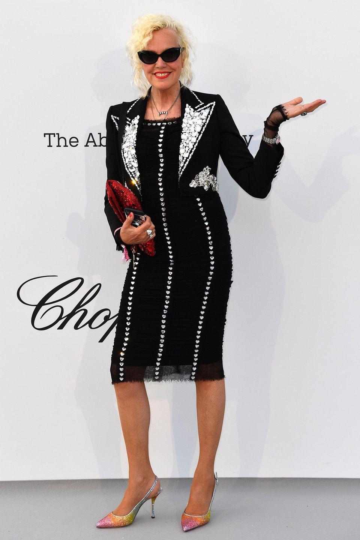 Ausnahmsweise mal nicht im Anzug: Star-Fotografin Ellen von Unwerth