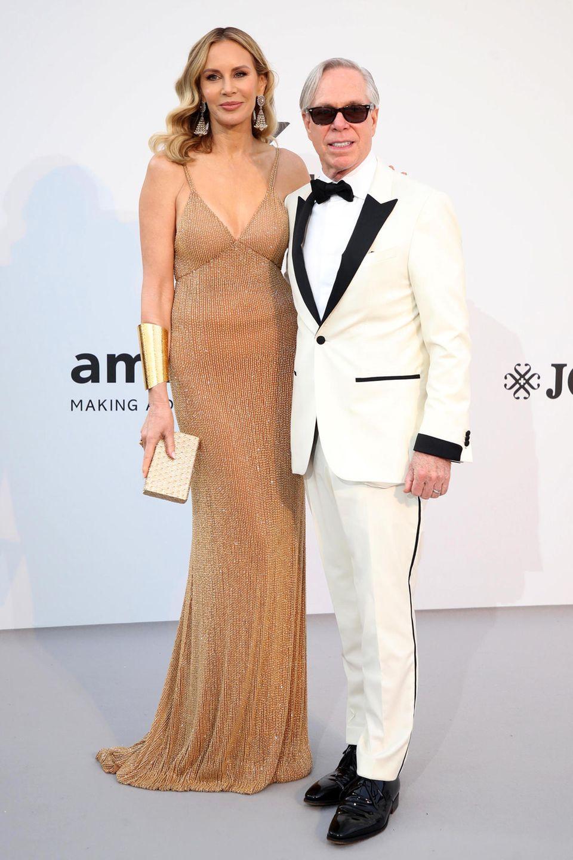 Dee und Tommy Hilfiger lassen sich das Glamour-Event in Cap d'Antibes ebenfalls nicht entgehen.