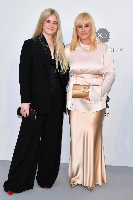 Patricia Arquette und Tochter Harlow Jane gebe sich beide lieber hochgeschlossen.