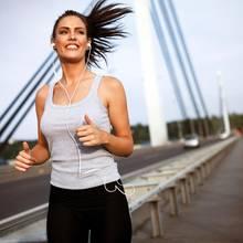 Ausdauersport ist gut für die Gehirnaktivität.