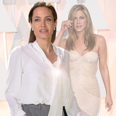 Angelina Jolie; Jennifer Aniston