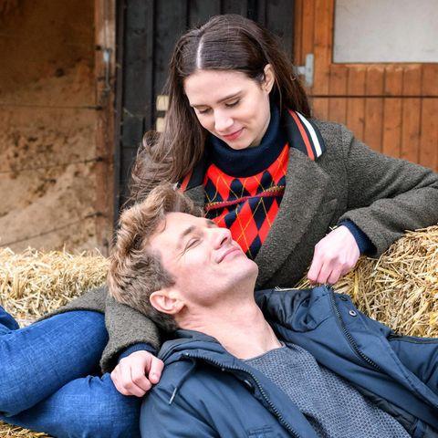 """""""Sturm der Liebe"""": Denise Saalfeld (Helen Barke) und Henry Achleitner (Patrick Dollmann)"""