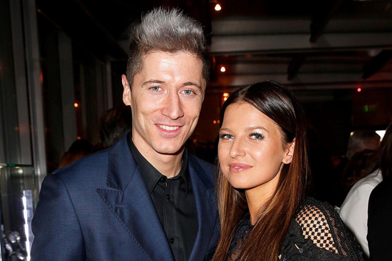 Robert Lewandowski + Anna Lewandowska