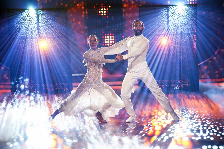 """Barbara Becker bei """"Let's Dance""""."""