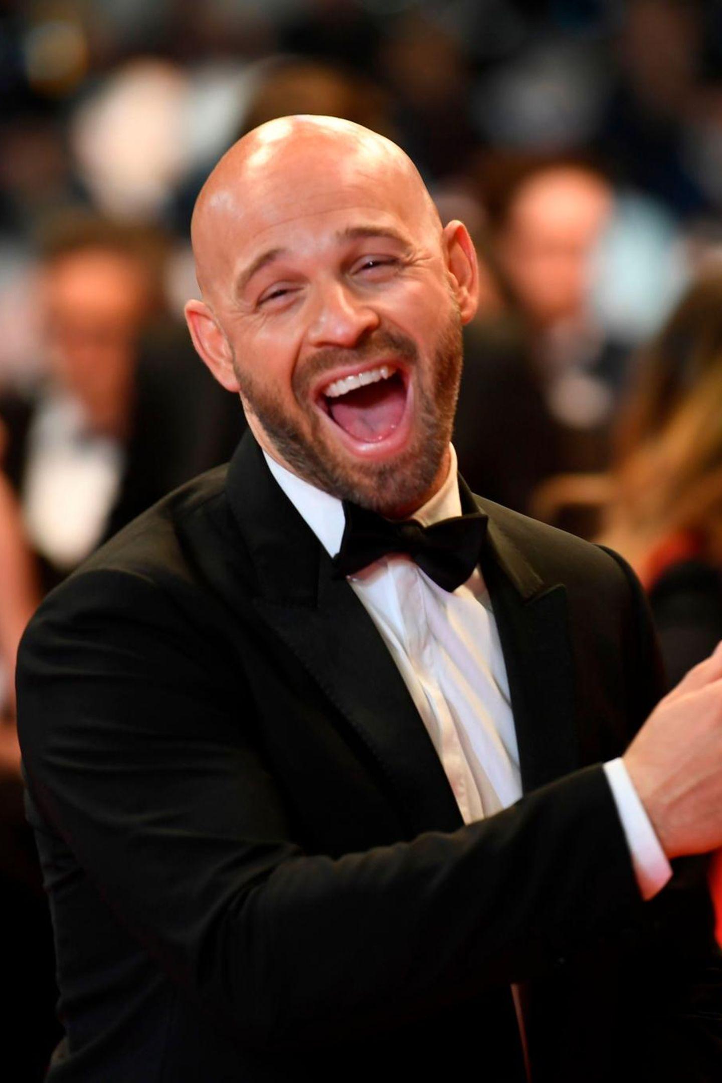 Für gute Laune sorgt auchFranck Gastambide, der mit seinem Lachen alle ansteckt.