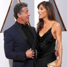 Sylvester Stallone + Jennifer Flavin