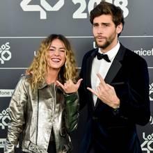 Álvaro Soler mit FreundinSofia Ellar