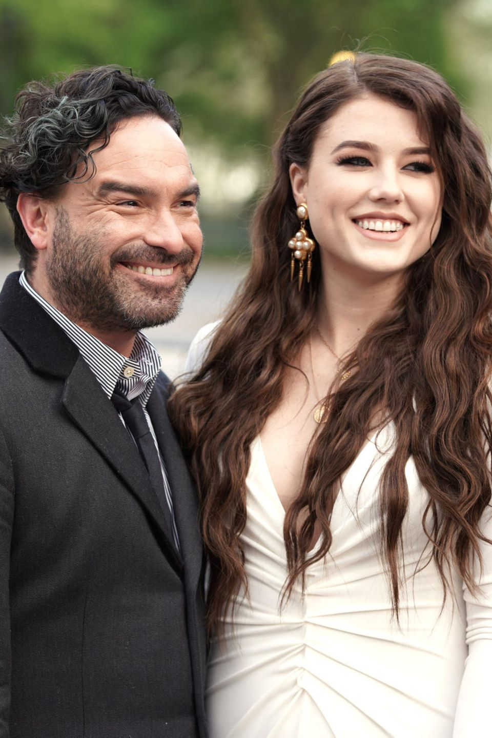 Johnny Galecki und Alaina Meyer